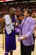 Craig Sager in a Purple Suit