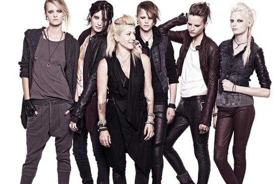 H&M Creates The Girl With the Dragon Tattoo Collection