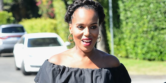 Kerry Washington Just Wore The Cutest Maternity Outfit Ever