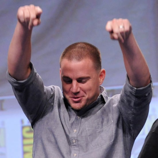 Channing Tatum Sings Just a Friend at Comic-Con 2014 | Video