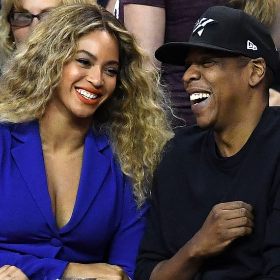 Beyonce and Jay Z at NBA Finals Game June 2016