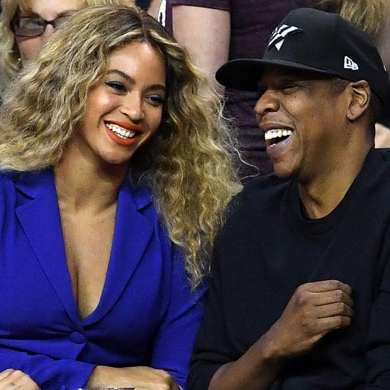 Beyonce and Jay Z at NBA Finals Game June 2016