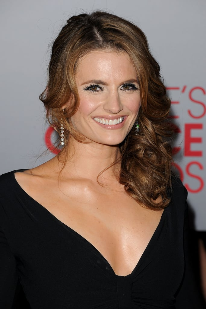 Stana Katic was in attendance at the People's Choice Awards.