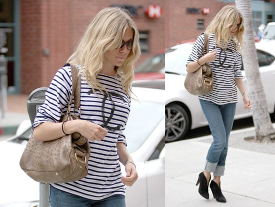 Photos of Sienna Miller Out and About in LA Before the MTV Movie Awards