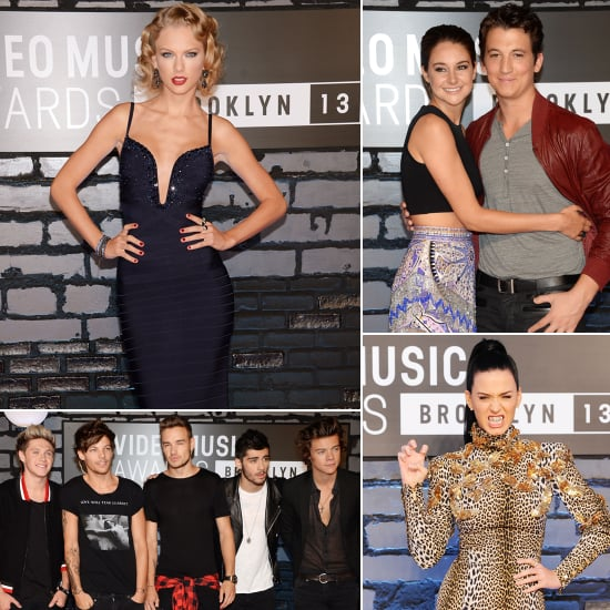 See All the Stars Arriving at the MTV VMAs!