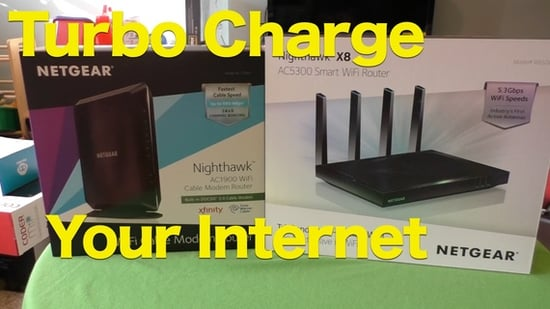 Can The NETGEAR Nighthawk Line Turbo Charge Your Internet?