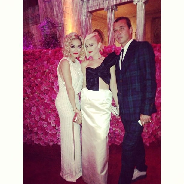 Rita Ora chatted with Gwen Stefani and Gavin Rossdale while checking out the exhibit. Source: Instagram user ritaora