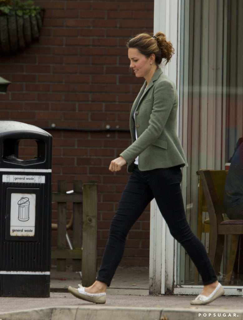 Kate Middleton made a pit stop at McDonald's.