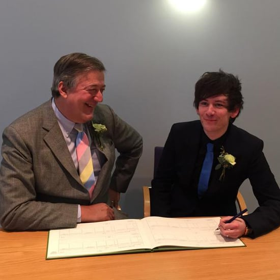 Stephen Fry Is Married to Elliott Spencer | Pictures