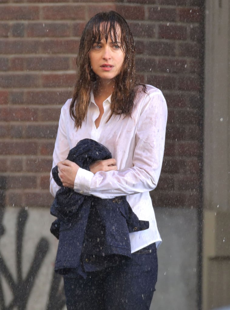 Johnson let the rain fall down — she's comin' clean.