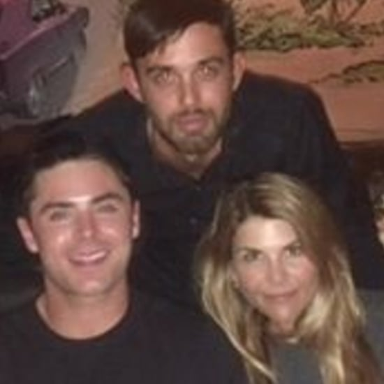 Zac Efron and Lori Loughlin Summerland Reunion