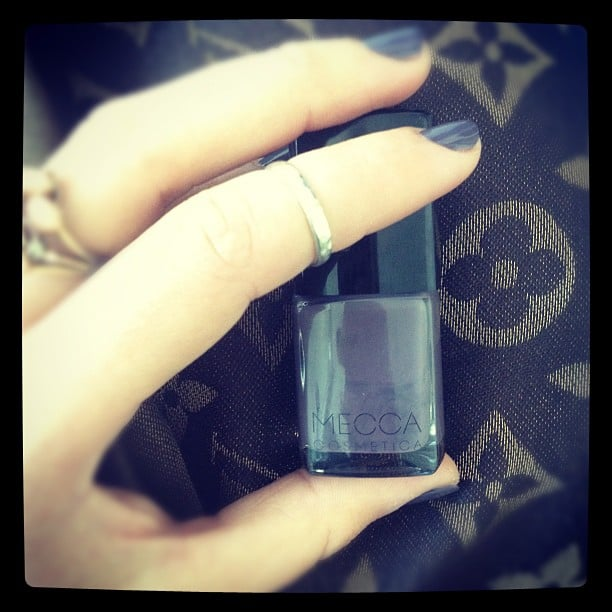 Jesinta Campbell got her paws onto MECCA nail polish . . . and loved it so much she took a photo!