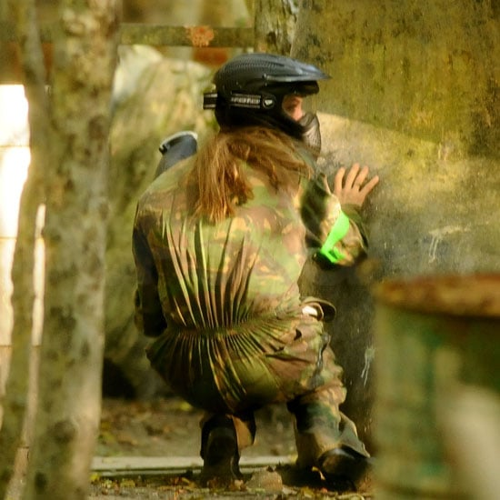 Sure Plays a Mean Paintball