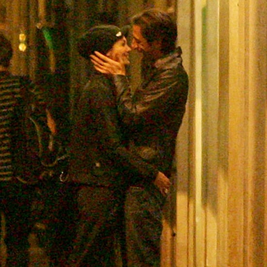 Adrien Brody Shows PDA in Rome | Pictures