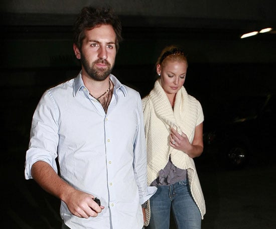 Photo of Katherine Heigl and Josh Kelley Leaving the Kabuki Japanese Restaurant in LA