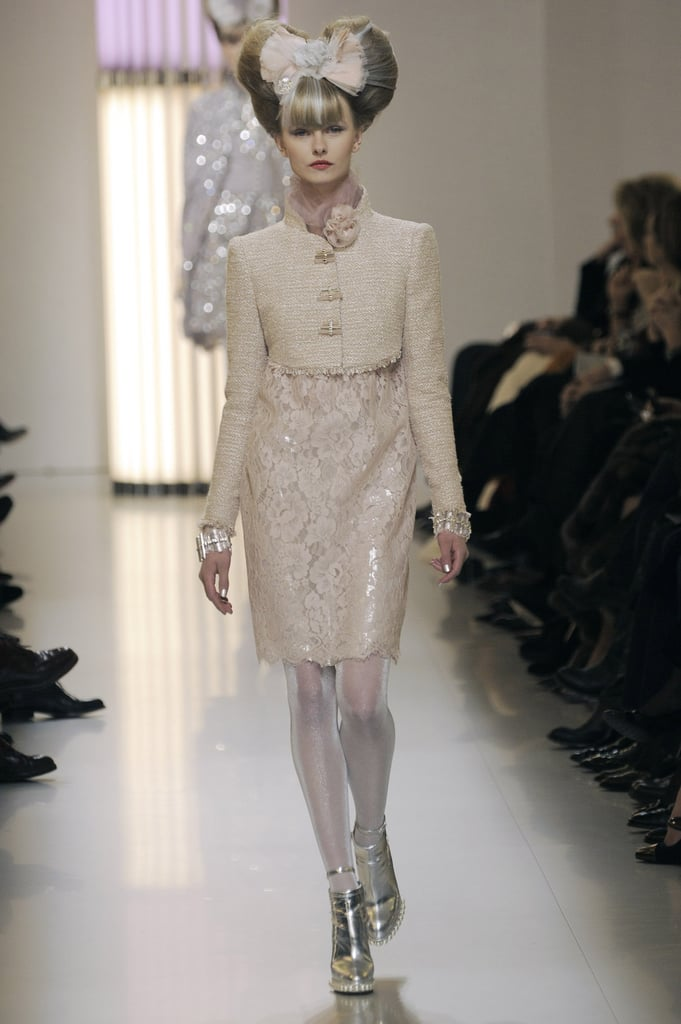 """Chanel Spring 2010 Couture: """"Neon Baroque"""" With a Dash of Pastel"""