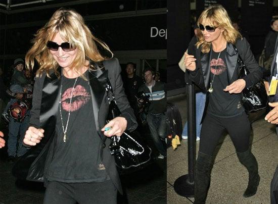 Supermodels Hit the Runway... at LAX