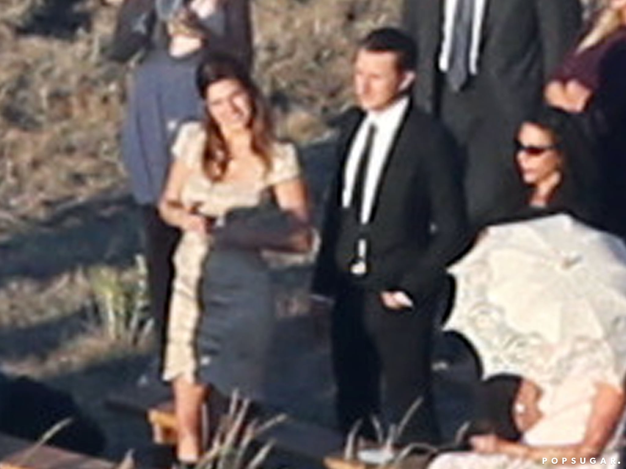 Lake Bell was among the guests to attend Kate Bosworth's Montana wedding.