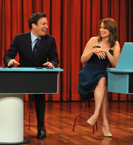 Tina Fey and Jimmy Fallon played games on Late Night.