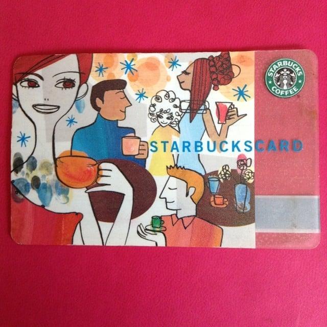Get a Starbucks Card