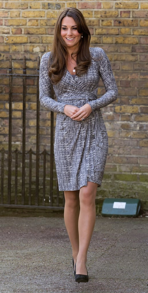 On Feb. 19, 2013, Kate visited Hope House in London after taking a short vacation with her family and Prince William.