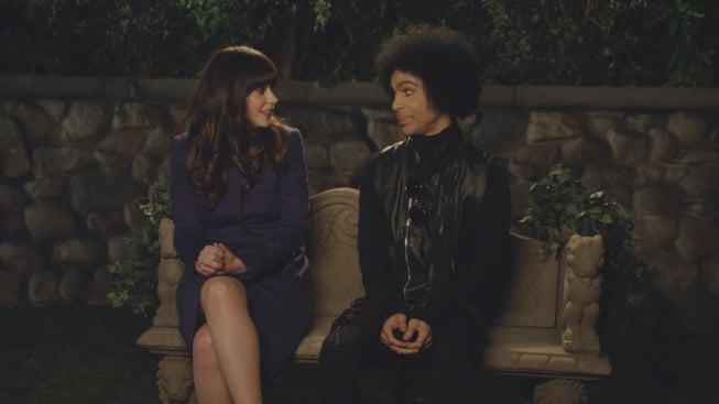 Jess and Prince share a moment.