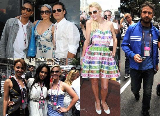 Pictures of Celebs at 2010 Monaco Grand Prix Naomi Campbell, Gerard Butler, Jennifer Lopez, Sugababes, Paris Hilton