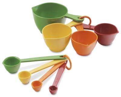 Melamine Measuring Cups & Spoons