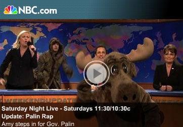 Pregnant Poehler More Amazing Than Palin on SNL!