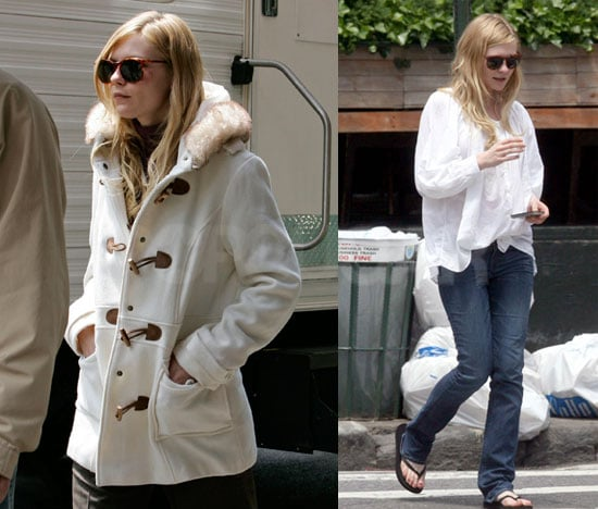 Kirsten Dunst On The Set Of All Good Things In New York