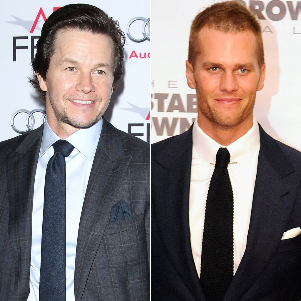 """Mark Wahlberg only has eyes for Tom Brady. Or, more specifically, Tom Brady's eyes. During recent interview, he revealed just how deep his feelings run: """"We finished shooting Ted 2. We have a performance by none other than the greatest quarterback of all time, Tom Brady. He plays himself. He does an amazing job . . . I kept staring into his eyes. I kept saying his eyes are so blue — bluer than Daytona Beach and Spring Break!"""""""