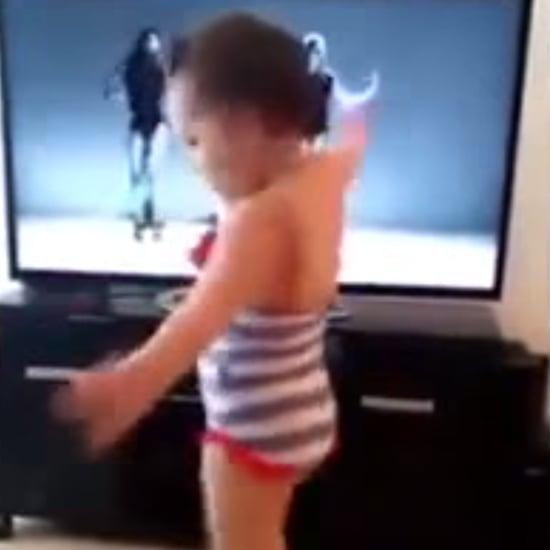 """Little Girl Dances to """"Single Ladies"""" in High Heels"""
