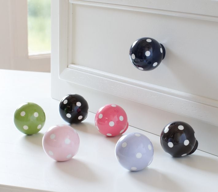 Pottery Barn Kids Dot Knobs