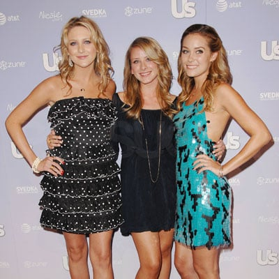 Lauren Conrad, Stephanie Pratt and Lo Bosworth at the Young Hollywood Party