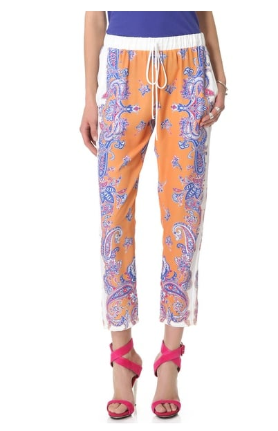 These breezy Clover Canyon Paisley Drawstring Pants ($172, originally $286) are the kind you can style up with a blazer and heels for work or down with sandals and a t-shirt for weekends.