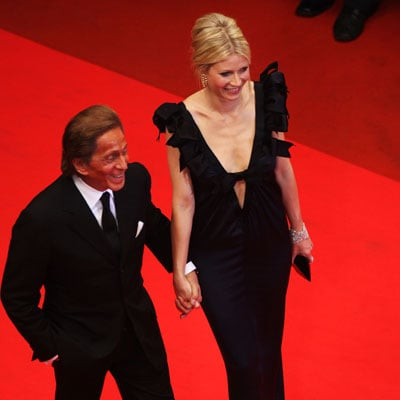 Gwyneth Paltrow and Valentino Garavani at the Cannes Premiere of Two Lovers