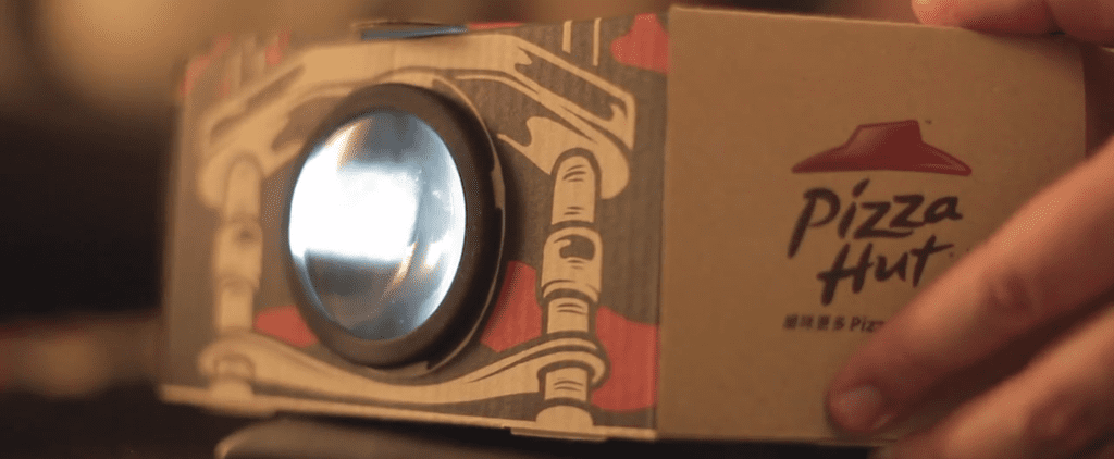 Pizza Hut's New Movie Projector Box Is Freakin' Genius