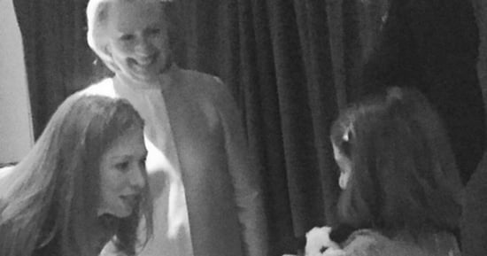 Yup, Suri Cruise Hung Out With Hillary Clinton