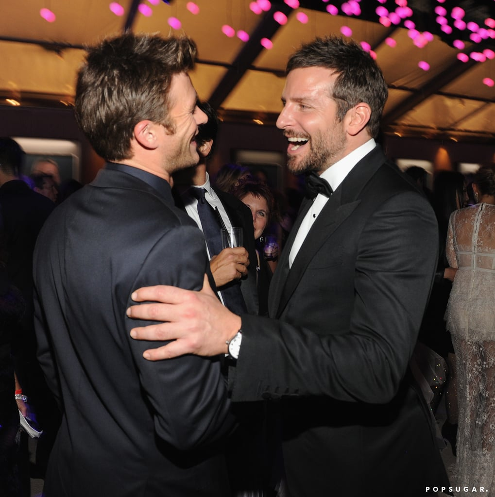 Bradley Cooper had the attention of Scott Eastwood.