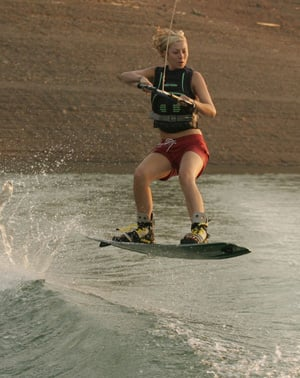 Ride the Wake:  Wakeboarding