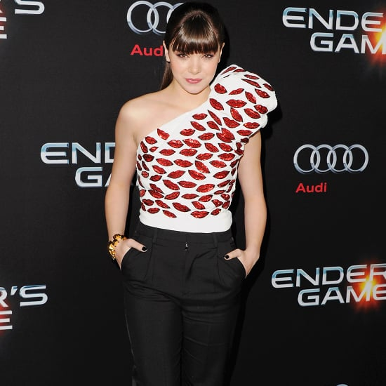 Hailee Steinfeld's Ender's Game Red Carpet Style