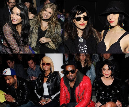 Vanessa Hudgens, Fergie, The Veronicas and More Front Row Celebrities at 2011 Fall New York Fashion Week
