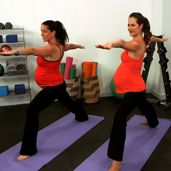 10-Minute Prenatal Yoga Strength Series