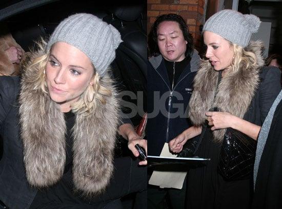 Sienna Miller NOT Making Sienna Miller Scrapbook