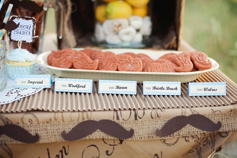 'Stache Cookies