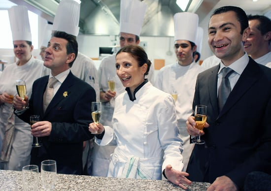 Woman Chef Wins Illustrious Three Star Ranking