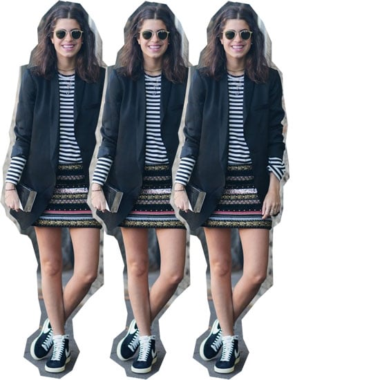 Wear High-Tops Like a Lady: 5 Ways to Wear Sneakers with Skirts