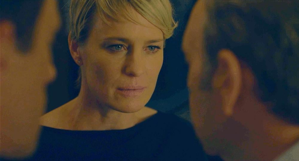 Best Creepy Threesome: House of Cards