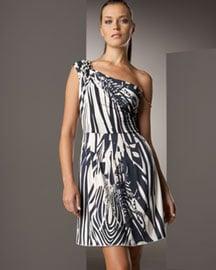Iisli Garbo Zebra Dress