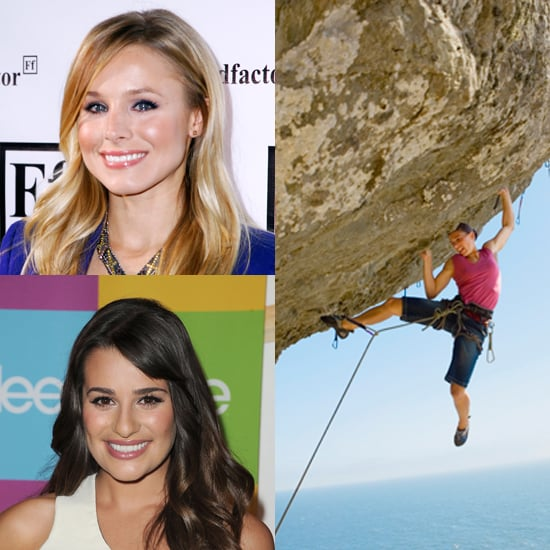 Celebrities Who Rock Climb